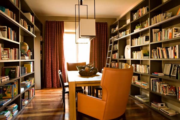 Cozy Living Spaces with Books-40-1 Kindesign