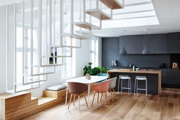 featured posts image for Modern two-story loft in Norway: Idunsgate Apartment