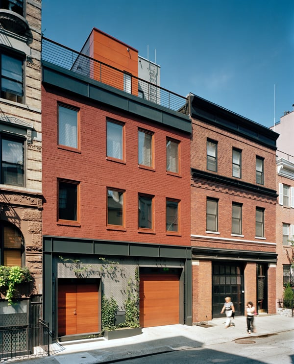 featured posts image for NYC townhouse renovation defies convention with drama and simplicity