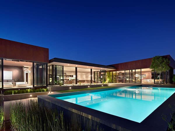 featured posts image for Spectacular minimalist home design in Los Angeles by SPF Architects