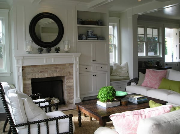 featured posts image for Give your tired old fireplace a fresh new look for summer
