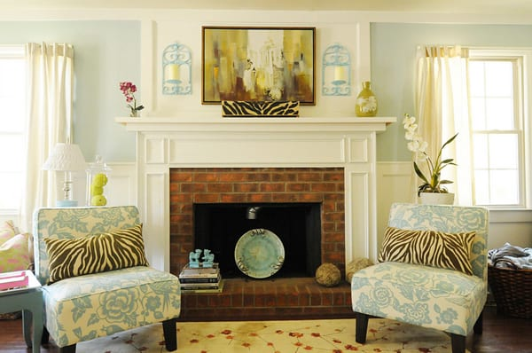 Refresh your Brick Fireplace-09-1 Kindesign
