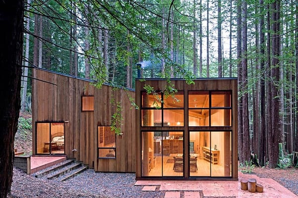 featured posts image for Sea Ranch Cabin surrounded by redwood forest in California