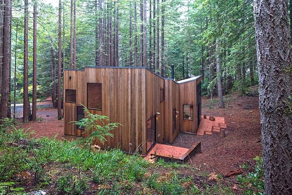 Sea Ranch Cabin-Frank Architects-02-1 Kindesign