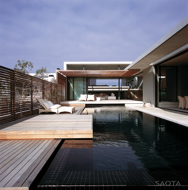 featured posts image for Breathtaking modern beach house in South Africa by SAOTA