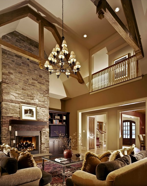 Warm Color Schemes-Living Room-05-1 Kindesign