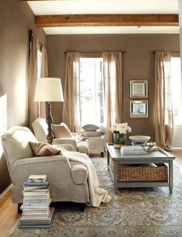 Warm Color Schemes-Living Room-06-1 Kindesign