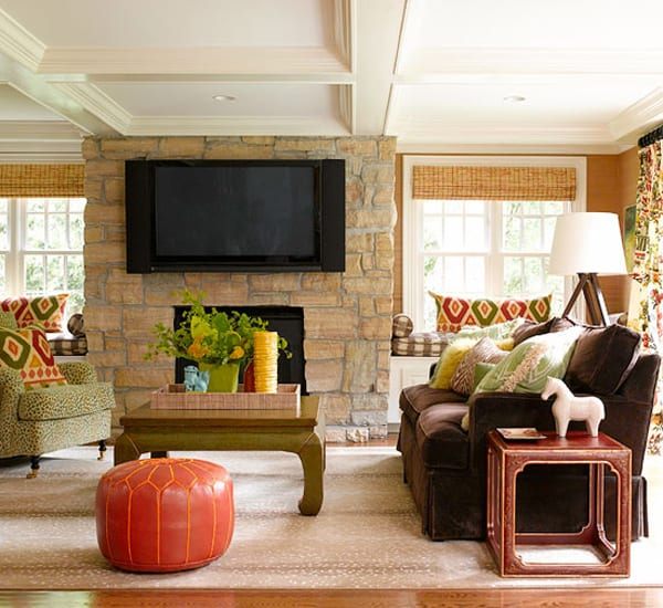 Warm Living Room Ideas: 43 Cozy And Warm Color Schemes For Your Living Room