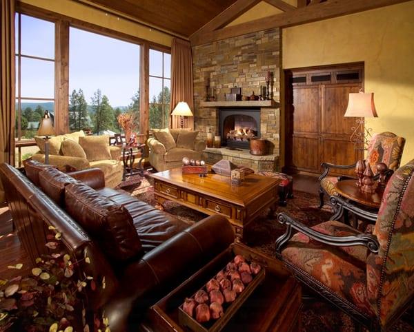 Warm Color Schemes-Living Room-16-1 Kindesign