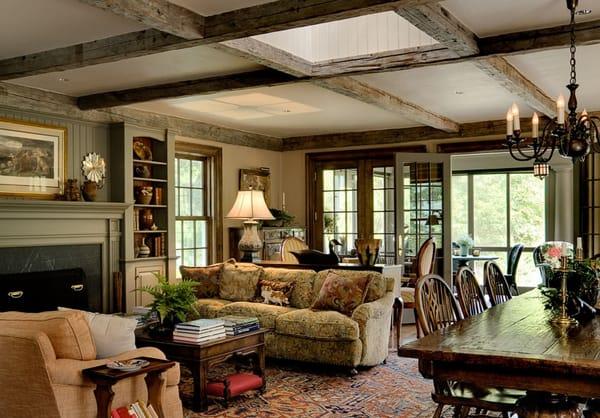 Warm Color Schemes-Living Room-19-1 Kindesign