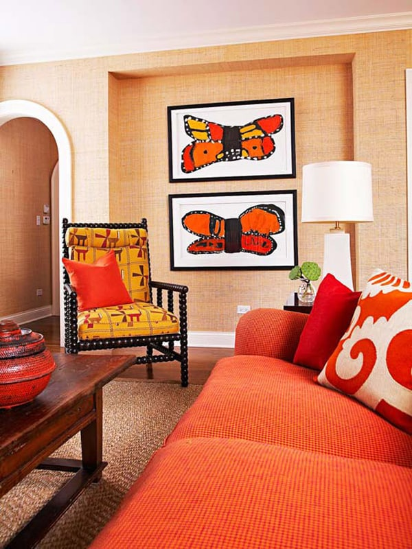 Warm Color Schemes-Living Room-21-1 Kindesign