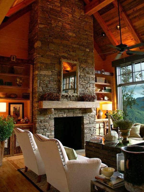 Warm Color Schemes-Living Room-30-1 Kindesign