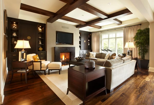 Warm Color Schemes-Living Room-31-1 Kindesign