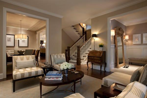 Warm Color Schemes-Living Room-33-1 Kindesign