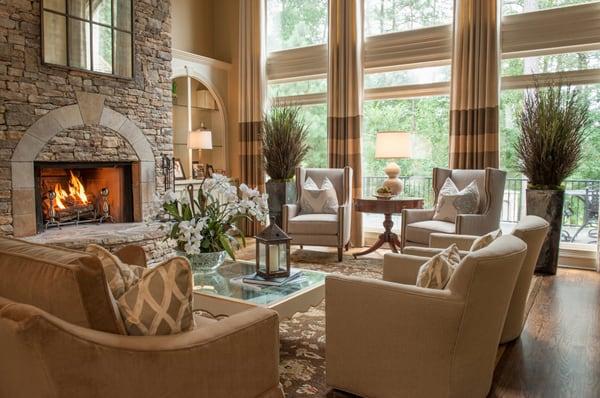 Warm Color Schemes-Living Room-39-1 Kindesign