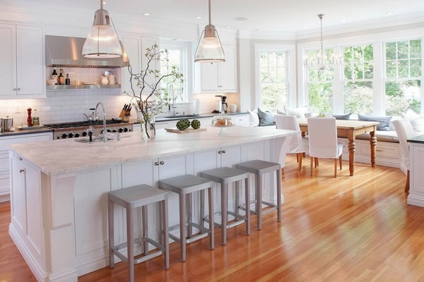 24 Sensational White Dream Kitchens You Must See