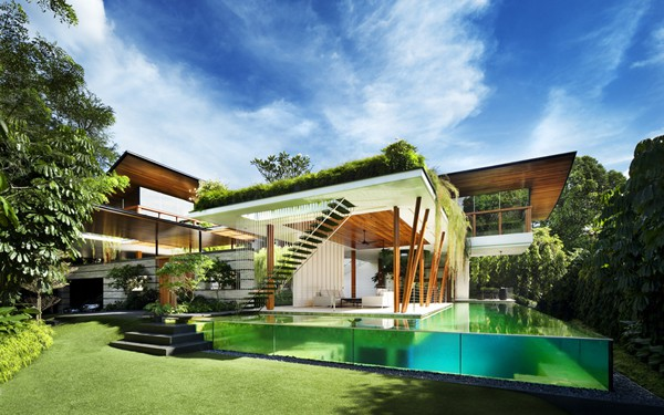 featured posts image for Modern Singapore oasis embracing nature: Willow House