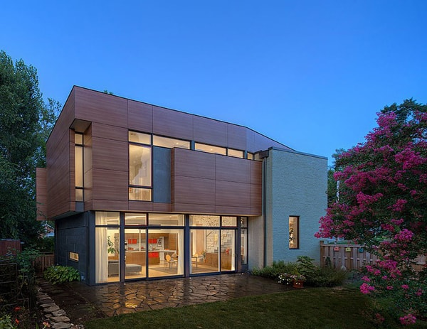 featured posts image for Renovated LEED platinum residence in Virginia: +2edison7