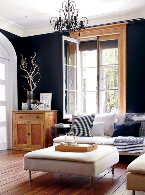 Black Painted Walls-02-1 Kindesign