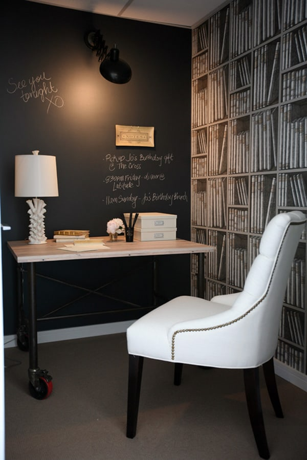 Black Painted Walls-04-1 Kindesign