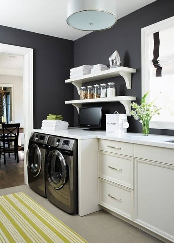 Black Painted Walls-10-1 Kindesign