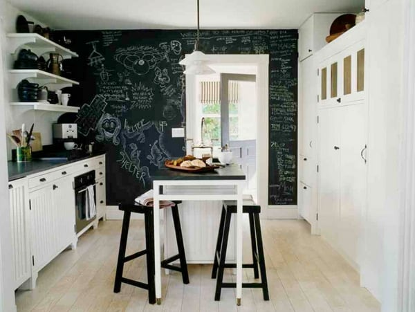 Black Painted Walls-11-1 Kindesign