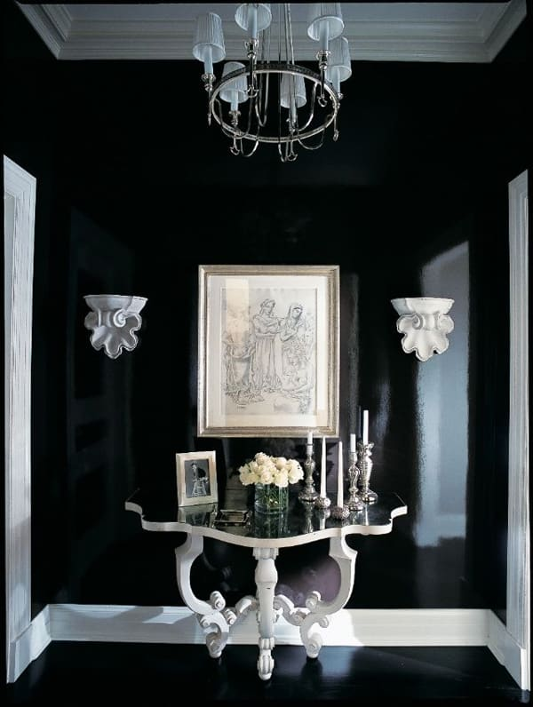 Black Painted Walls-22-1 Kindesign
