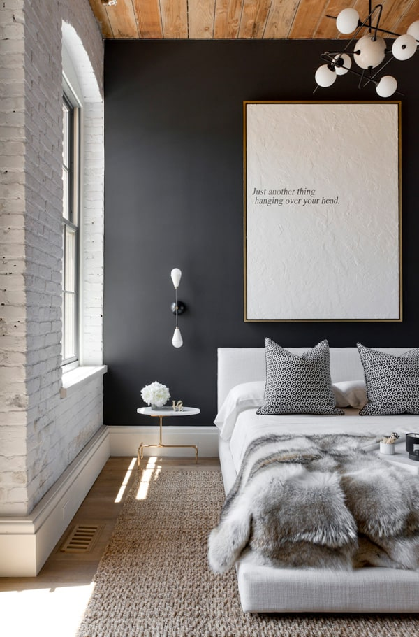 Black Painted Walls-39-1 Kindesign