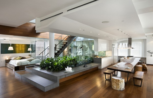 featured posts image for Penthouse loft showcasing rooftop urban garden in Manhattan