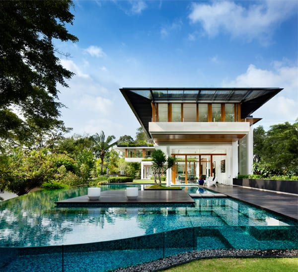 featured posts image for Tropical bungalow design in Singapore: Dalvey Road House