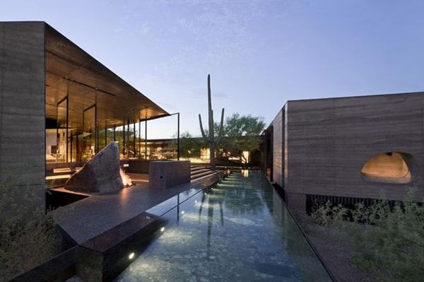 Desert Courtyard House-Wendell Burnette Architects-019-1 Kindesign
