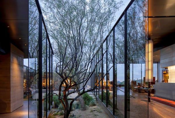 Desert Courtyard House-Wendell Burnette Architects-04-1 Kindesign