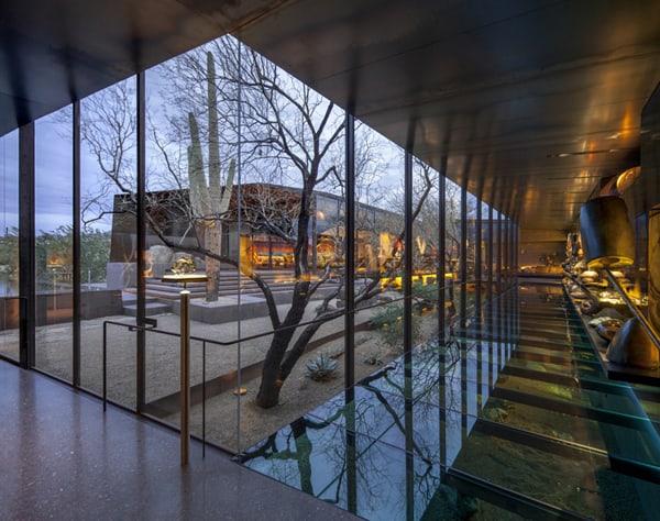 Desert Courtyard House-Wendell Burnette Architects-05-1 Kindesign