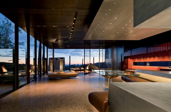 Desert Courtyard House-Wendell Burnette Architects-07-1 Kindesign