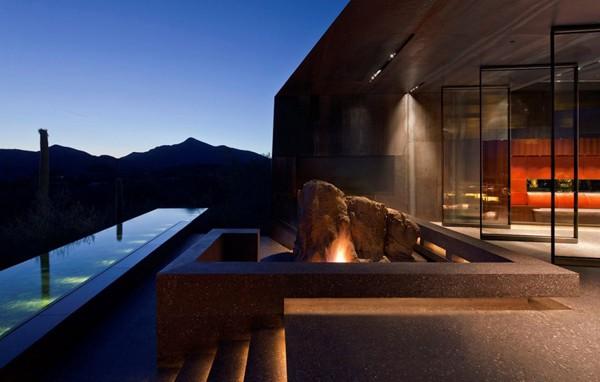 Desert Courtyard House-Wendell Burnette Architects-08-1 Kindesign