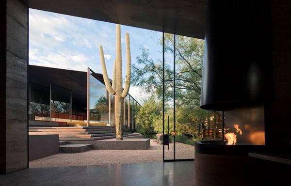 Desert Courtyard House-Wendell Burnette Architects-09-1 Kindesign
