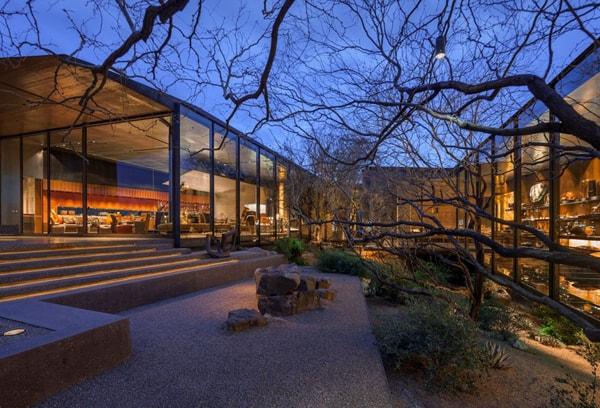 Desert Courtyard House-Wendell Burnette Architects-10-1 Kindesign