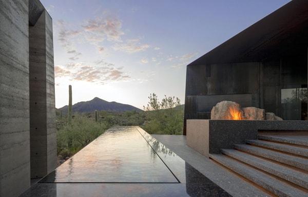 Desert Courtyard House-Wendell Burnette Architects-19-1 Kindesign