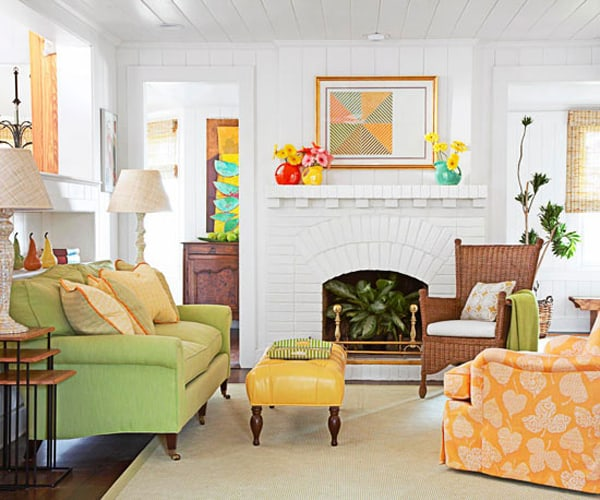 Living Room Designs 2014: 51 Inspiring Small Living Rooms Using All Available Space