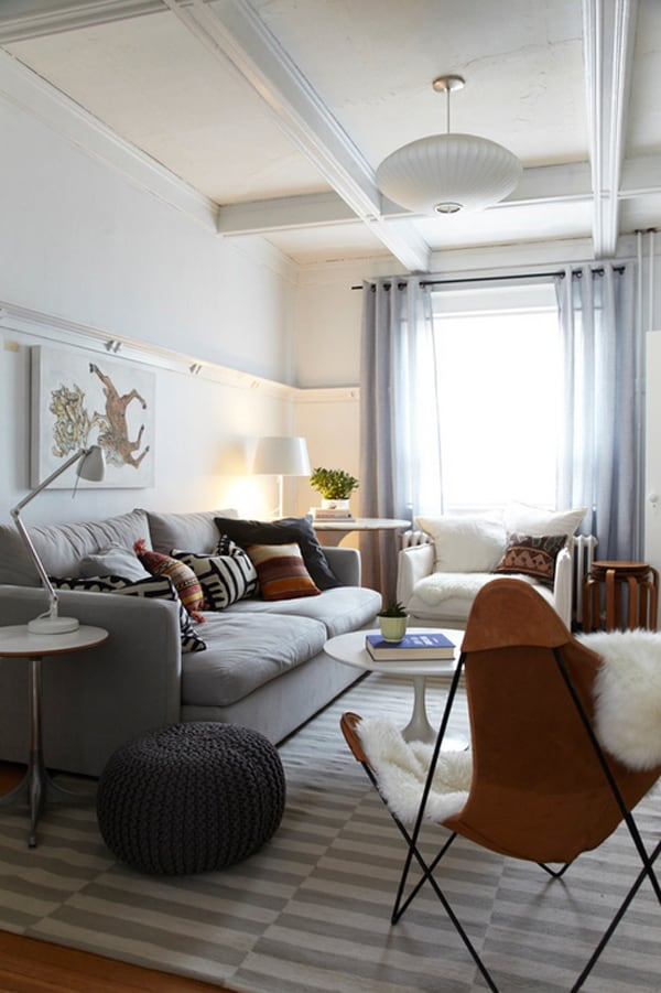 Inspiring Small Living Rooms-20-1 Kindesign