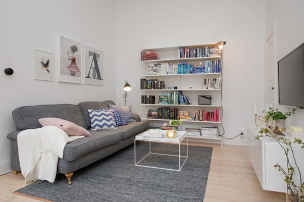 Inspiring Small Living Rooms-28-1 Kindesign