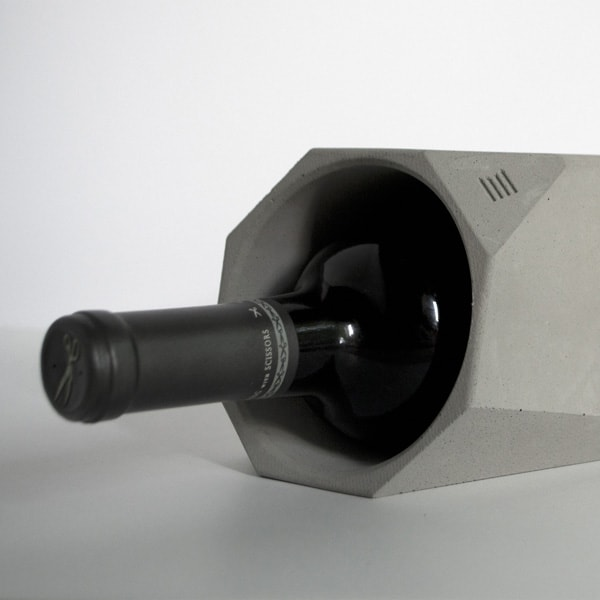 IntoConcrete-Corvi Concrete Wine Cooler-06-1 Kindesign