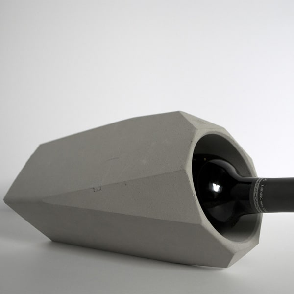 IntoConcrete-Corvi Concrete Wine Cooler-07-1 Kindesign