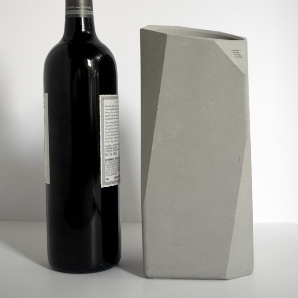 IntoConcrete-Corvi Concrete Wine Cooler-11-1 Kindesign