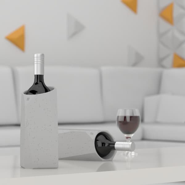 IntoConcrete-Corvi Concrete Wine Cooler-13-1 Kindesign