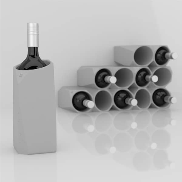 IntoConcrete-Corvi Concrete Wine Cooler-14-1 Kindesign