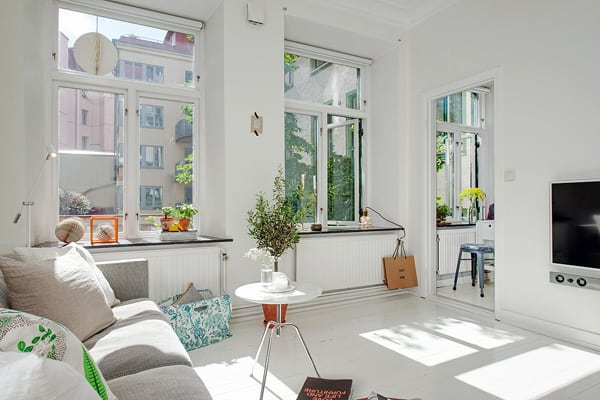 featured posts image for Adorable tiny apartment with intriguing layout in Sweden