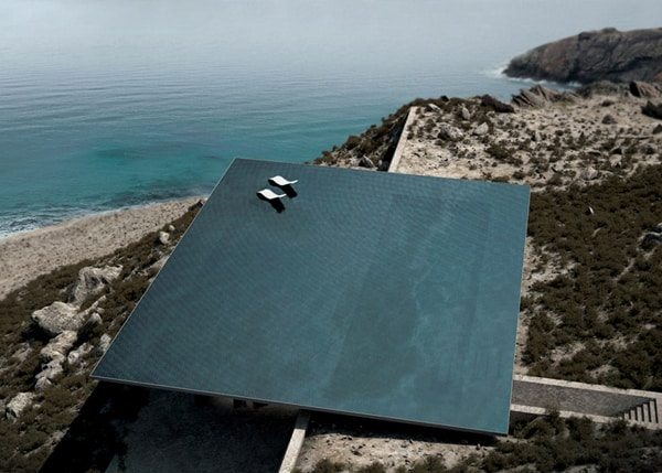 featured posts image for Unbelievable rooftop pool on a Greek island: Mirage House