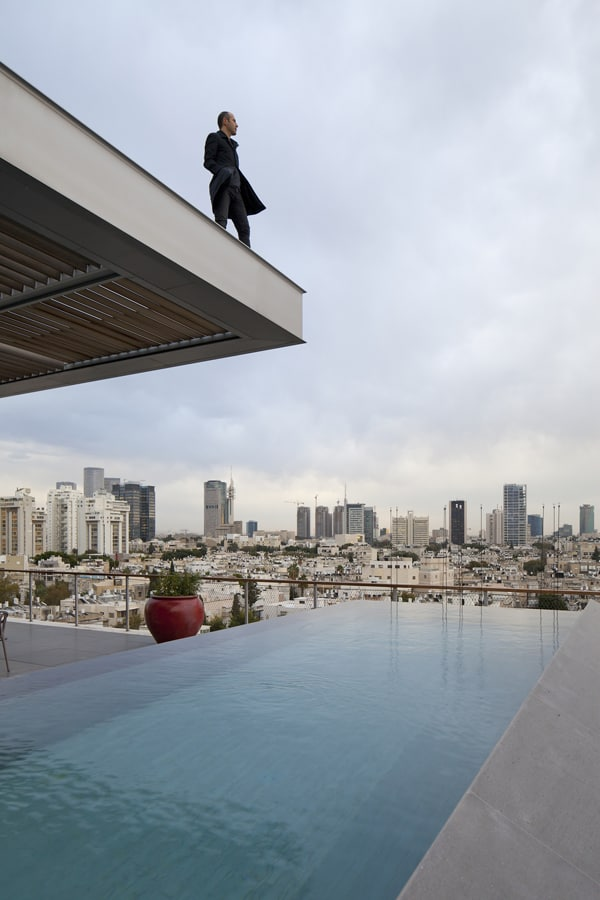 featured posts image for Open and Transparent Penthouse Design in Tel Aviv