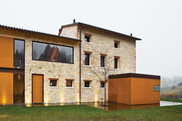 featured posts image for Renovated farmhouse infused with warmth in Northern Italy